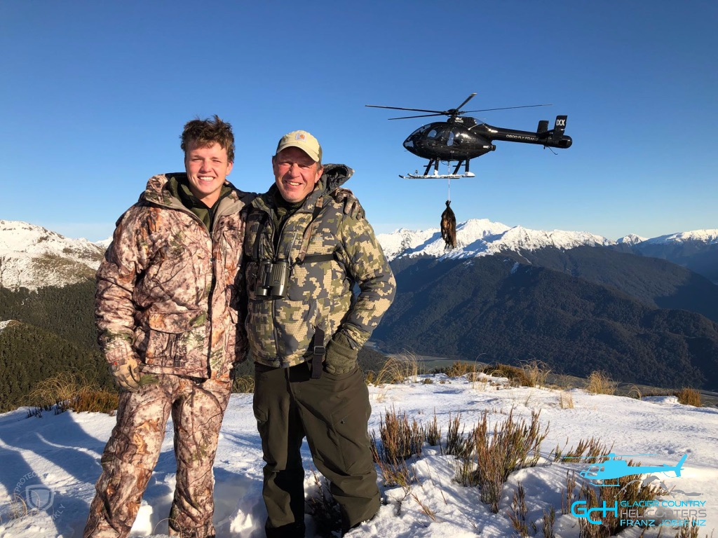 helicopter hunting new zealand